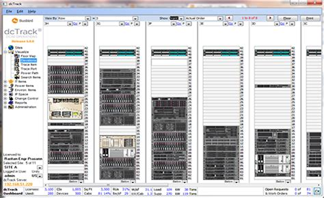 Excel Room Layout Template dcim data center infrastructure management software