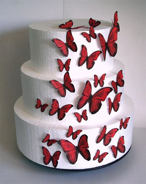 edible decorations edible butterflies wedding cake topper set of 24 diy