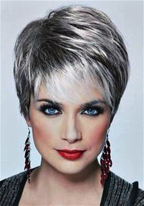 What Hairstyle For An Oval With Jowls | gorgeous grey hair styles you won t mind flaunting