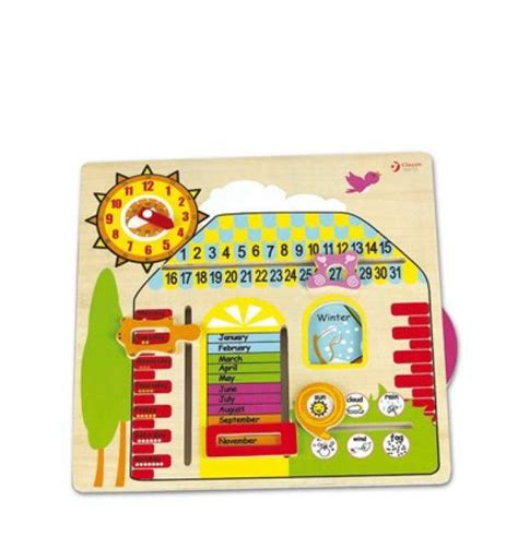 Calendario Didactico Para Niños Juguetes Educativos Para Ni 241 Os De 3 A 241 Os Calendario De Cayro