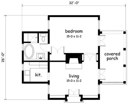 guest house plans 500 square feet cutest 500 sq feet could be a really nice office if