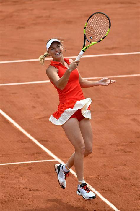 caroline wozniacki french open tennis tournament