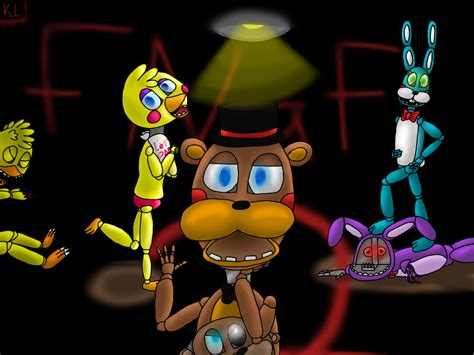 painting fnaf out with the fnaf 2 speedpaint by dimonds456 on