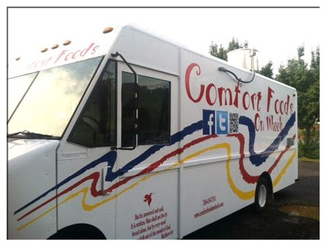 comfort food truck comfort foods on wheels llc charlotte food trucks