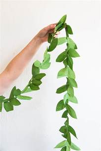 Paper Leaf Template by Diy Paper Leaf Garland The House That Lars Built