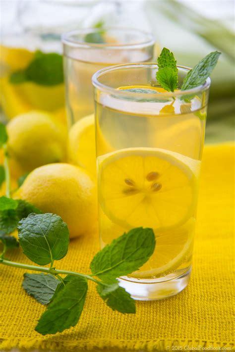 Detox Diarriah by Lemon Mint Water Diarrhea