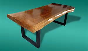 Solid Acacia Wood Dining Table Live Edge Dining Table Acacia Wood Live Edge Reclaimed By Flowbkk