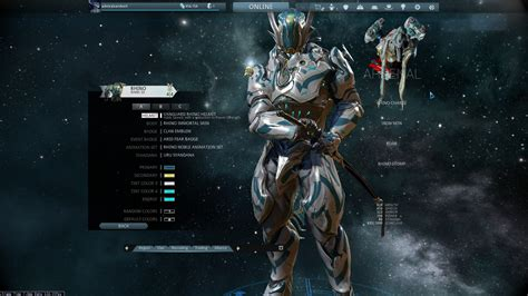 best warframe what is the best looking warframe sentinel you ve made