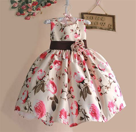 Mickey Happy Dress Mickey Dress Casual Bagus Murah new 2017 summer dress floral tribute silk