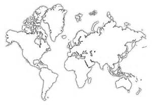 World Map Template by Pics Photos World Map Outline Pdf