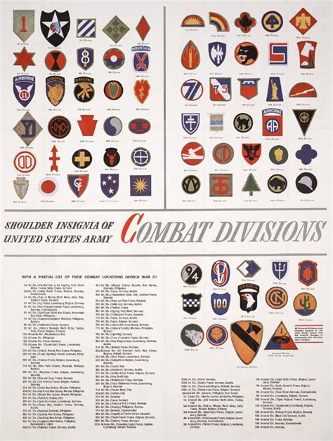 us army sections us military divisions wwii