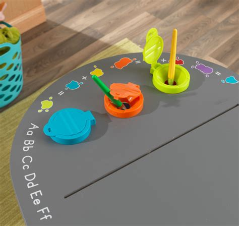 Kidkraft Chalkboard Table With Stools by Kidkraft Ritbord Chalkboard Table With Stools