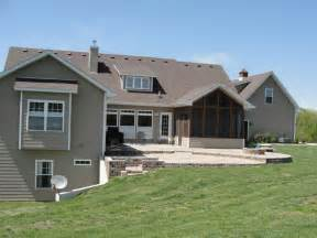 walkout basement ranch house plans with walkout basement basement details custom homes by of house walk out