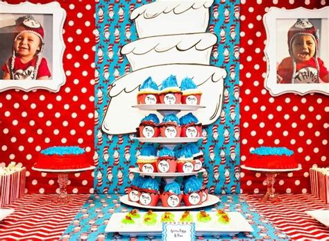 Thing 1 Thing 2 Decorations by Kara S Ideas Thing 1 And Thing 2 Birthday