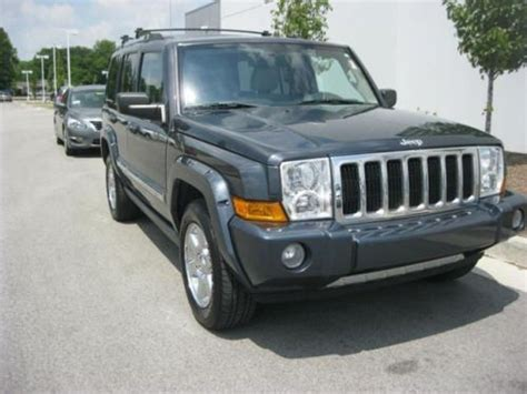 2007 Jeep Commander Transmission Sell Used 2007 Jeep Commander Limited In 8867 East Highway