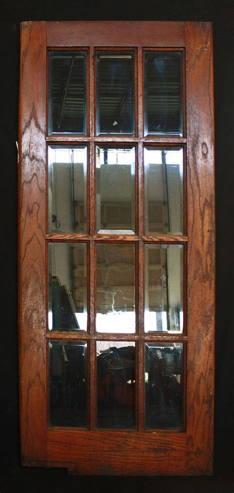 32x78 Exterior Door 32 Quot X 78 Quot Antique Interior Exterior Oak Swinging Door Beveled G