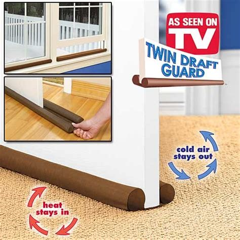 Draft Guard Dust Heat Stopper Penahan Udara draft guard dust heat stopper penahan udara brown jakartanotebook
