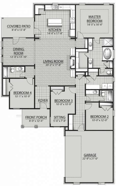 dsld homes floor plans houmas ii a floor plan dsld homes floorplans