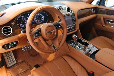 orange bentley interior 2017 bentley bentayga w12 signature stock 7nc015928 for