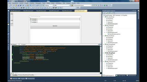 xaml tutorial online wpf tutorial stackpanel grid canvas warppanel