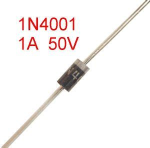 diode voltage drop 1n4001 20 diodes 1n4001 1 50v axial do 41