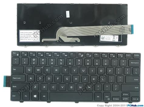 Keyboard Dell Inspiron 14 dell inspiron 14 3442 keyboard dp n 50x15 050x15