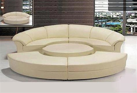 round sofa couch round sofa sleeper 43 sectionals