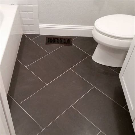 small bathroom floor ideas bathroom floor tile ideas for small bathrooms 12x24 tile