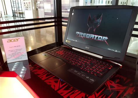 Hp Acer Predator Di Indonesia acer hadirkan laptop predator helios 300 dan headset mr di indonesia teknojurnal