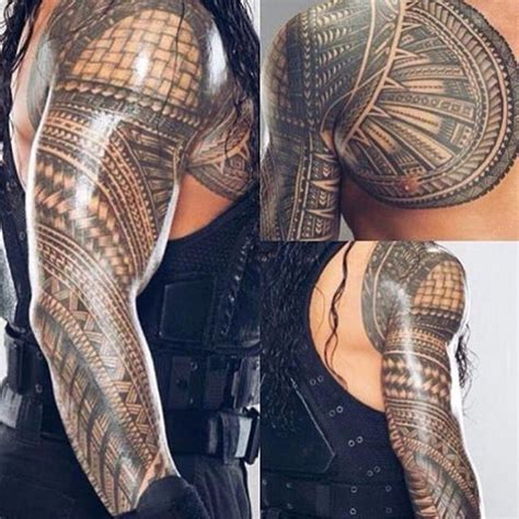roman reigns tattoo 80 best polynesian tattoos images on
