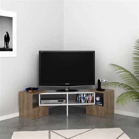 mobile tv soggiorno mobile tv angolare per soggiorno in legno bianco harrison