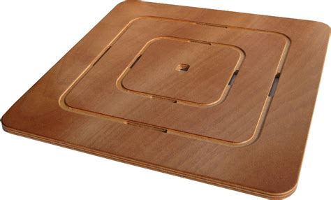 Shower Tray Wooden Footboard by Shower Footboard Marine Plywood Concentric Pattern