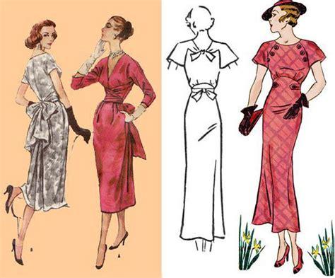 sewing pattern vintage free vintage sewing patterns