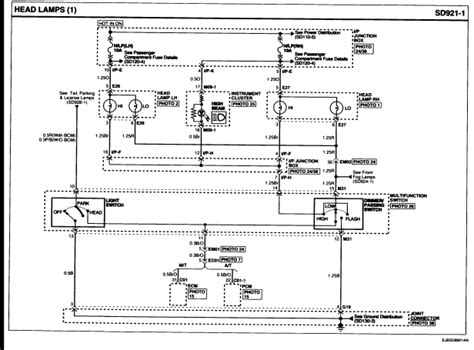 wiring diagram for spotlights to high beam 42 wiring