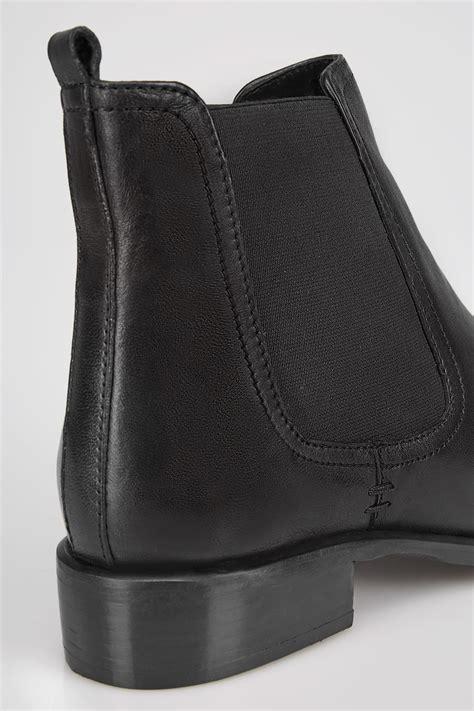 country comfort chords bottes cuir chelsea classiques noires en taille eee v 233 ritable