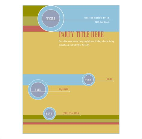 free flyers templates 16 publisher flyer templates psd designs free