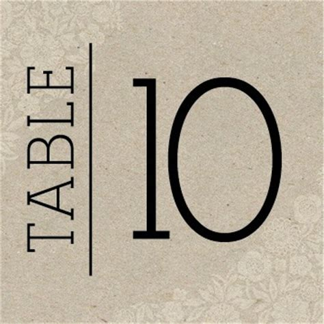 free printable table number cards template wedding table numbers printable pdf by basic invite
