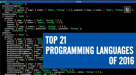 Programming Languages javascript is still the king top 21 programming