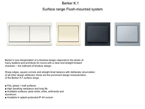 Saklar Berker berker product catalog