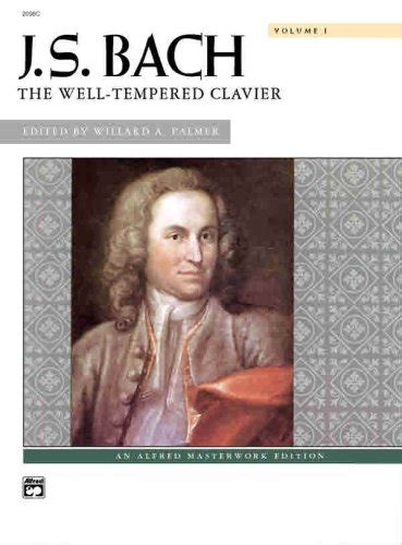 Js Bach Well Temperd Clavier Vol1 Alfred Ed dante3 6 9 on marketplace sellerratings