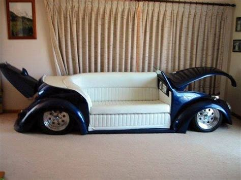 couch car vw beetle loveseat v dub pinterest receptions