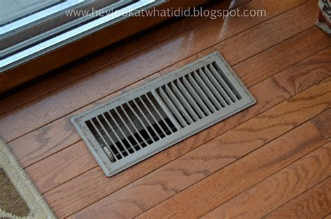 Floor Vent by Hey Look At What I Did How I Salvaged Floor Register