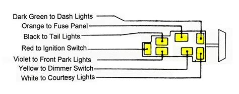 56 ford fairlane parts wiring diagram headlight wiring
