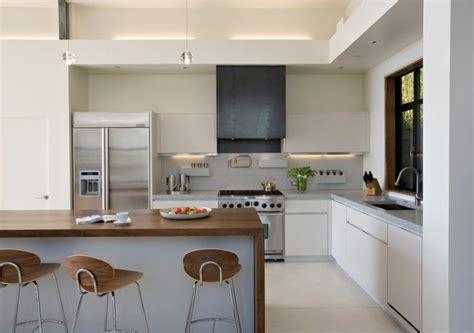 Kitchen Island Layouts And Design by Cocina Americana Con Barra Funcionalidad En Tu Hogar