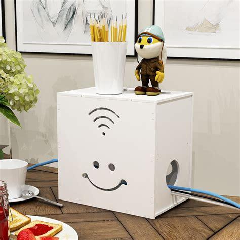 diy power strip box smile flower wifi non formaldehyde lacquer diy electrical