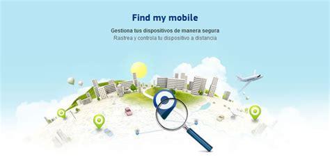 my find mobile rastrear un celular samsung y bloquearlo con find my mobile
