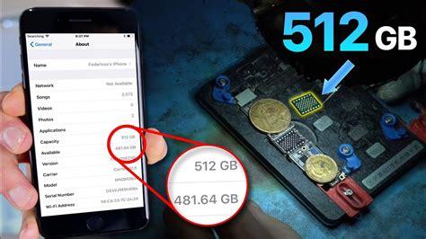 gb iphone exists   upgrade storage  youtube