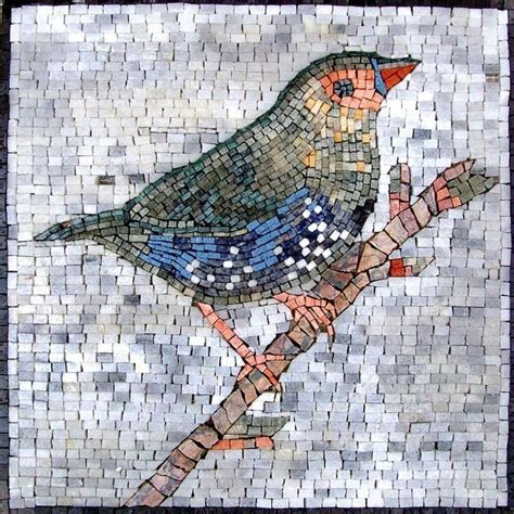 mosaic pattern birds this is a hand made marble mosaic of a colorful bird