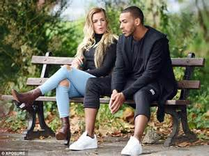 Faux Leather Bench X Factor S Josh Daniel And Pretty Female Companion Enjoy