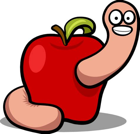 worm clipart apple worm clip at clker vector clip